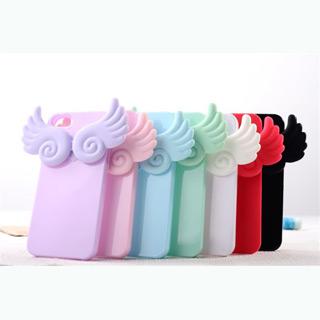 天使の翼ソフトシリコンケース iphone5/5s ケース 全3色 携帯ケース