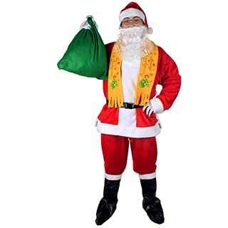 クリスマス メンズサンタ衣装 男性用 スーツ セット衣装A コスチューム 仮装グッズ コスプレ 激安 安い コスプレ衣装