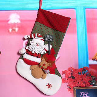 クリスマス クリスマス靴下 サンタクロースA クリスマス プレゼント 子供 お祝い 室内装飾 コスプレ衣装