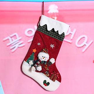 クリスマス クリスマス靴下 雪だるまB クリスマス プレゼント 子供 お祝い 室内装飾 コスプレ衣装