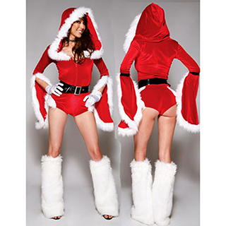 クリスマス サンタコスプレ DS舞台衣装 パーティー衣装 赤い衣装 フリーサイズ サンタドレス サンタ 衣装 クリスマス コスチューム 仮装グッズ コスプレ衣装