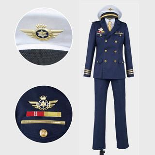 うたの☆プリンスさまっ♪ Shining Airlines 新人パイロット 翼の形 金属バッチ コスプレ衣装 プリンスVer.R風 豪華版
