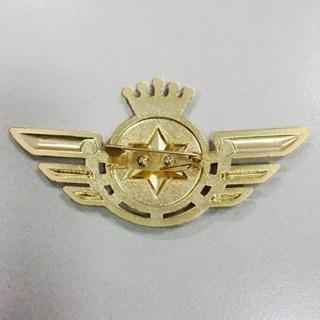 うたの☆プリンスさまっ♪  Shining Airlines 新人パイロット 翼の形 金属バッチ  コスプレ道具