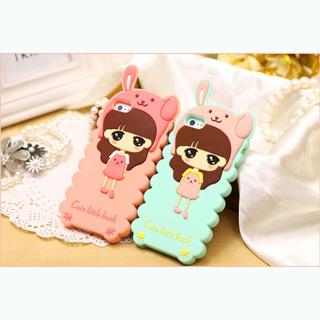 可愛いバニー耳 iphone4/4s  iphone5/5s iphone5c  ケース 人気キャラクター 携帯ケース