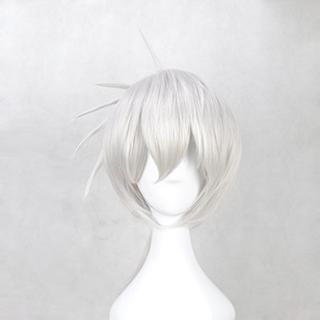 カゲロウプロジェクト 九ノ瀬遥(ここのせ はるか) シルバー ショート コスプレウィッグ