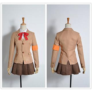 Seitokai Yakuindomo Shino Amakusa Cosplay Costume