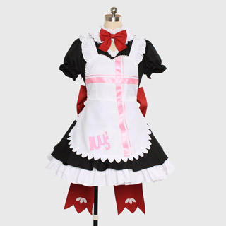Love Live! Maid Honaka Kosaka Cosplay Costume