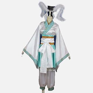 鬼灯の冷徹 白澤(はくたく) 審判員 コスプレ衣装
