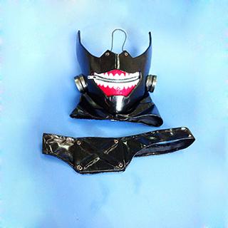 東京喰種トーキョーグール 金木 研(かねき けん) / カネキ 半喰種 マスク コスプレ道具