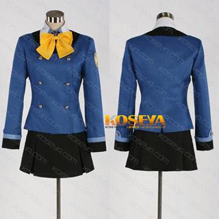 ダンボール戦機ウォーズ 神威大門統合学園女子制服 キャサリンルース コスプレ衣装