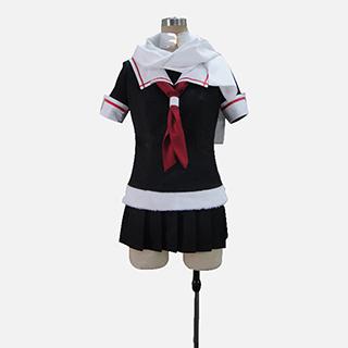 艦隊これくしょん -艦これ- 艦娘(かんむす) 夕立(ゆうだち/ゆふだち) コスプレ衣装