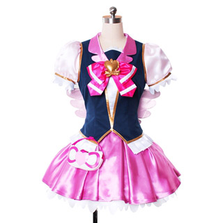 Happiness Charge PreCure! Megumi Aino/Cure Lovely Cosplay Costume