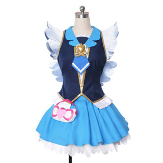 Happiness Charge PreCure! Hime Shirayuk / Cure Princes Cosplay Costume