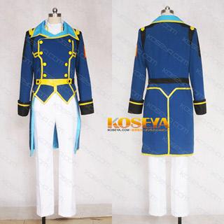 バディ・コンプレックスBUDDY COMPLEX ビゾン・ジェラフィル 中尉 コスプレ衣装