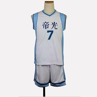 黒子のバスケ 緑間 真太郎(みどりま しんたろう) ユニフォーム 番号7 コスプレ衣装