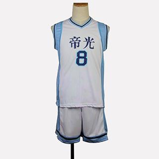 黒子のバスケ 黄瀬 涼太(きせ りょうた) ユニフォーム 番号8 コスプレ衣装