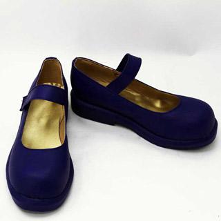 フェアリーテイル ウェンディ・マーベル 低ヒール コスプレ靴 コスプレブーツ