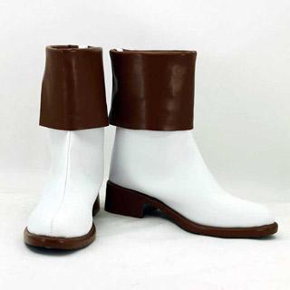 神々の悪戯 草薙 結衣(クサナギ ユイ) 低ヒール コスプレ靴 コスプレブーツ