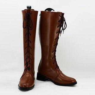 悪魔のリドル 東 兎角(あずま とかく) 低ヒール コスプレ靴 コスプレブーツ