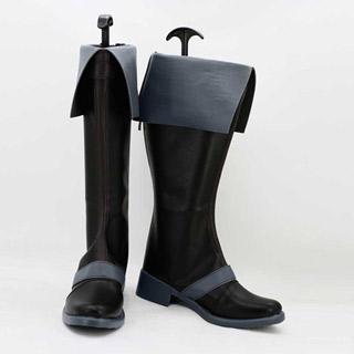 ブラック・ブレット(Black Bullet) 里見 蓮太郎(さとみ れんたろう) 低ヒール コスプレ靴 コスプレブーツ