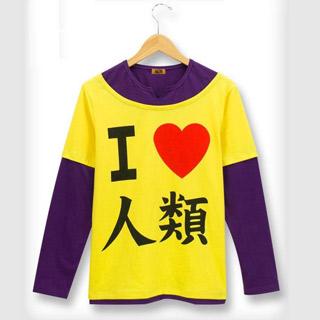 ノーゲーム・ノーライフ NO GAME NO LIFE 空(そら) Tシャツ コスプレ衣装ver.2