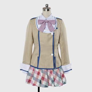 彼女がフラグをおられたら 魔法ヶ沢茜(マホウガサワ アカネ) 制服 コスプレ衣装