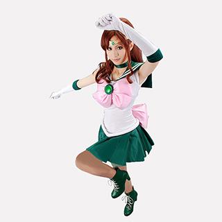 美少女戦士セーラームーン 木野 まこと (きの まこと) セーラージュピター コスプレ衣装