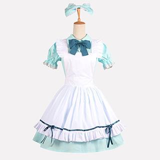 ラブライブ! SR <初期> 覚醒後 小泉 花陽(こいずみ はなよ) メイド服 コスプレ衣装