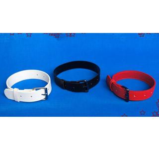 コスプレ ロリータ 首輪 チョーカー 赤/白/黒 三色選択可 コスプレ道具