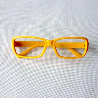 ペルソナ4 PERSONA4 里中 千枝(さとなか ちえ) 黄色い コス用具 眼鏡 メガネフレーム コスプレ道具
