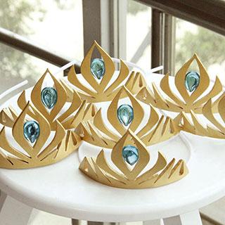 アナと雪の女王 Frozen エルサ(Elsa) 戴冠式 王冠  コスプレ道具