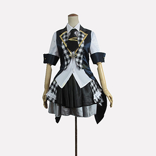 AKB0048 襲名メンバー 10代目 宮澤佐江(みやざわ さえ)/さえ 白黒チェッカー柄 コスプレ衣装