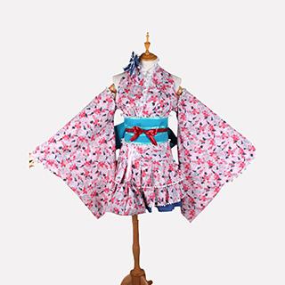 ラブライブ! 高坂 穂乃果(こうさか ほのか) 夏祭り コスプレ衣装