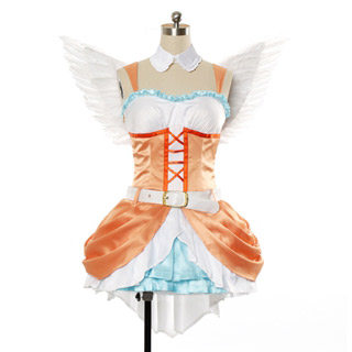 Love Live! Anime Single2 Love wing bellDancing stars on me! Hanayo Koizumi Cosplay Costume