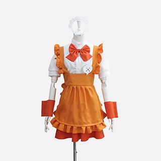 這いよれ! ニャル子さん クー子(クーこ) メイド服 コスプレ衣装