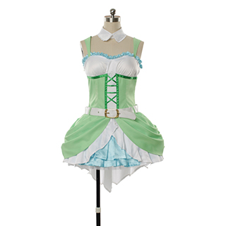 Love Live! Anime Single2 Love wing bellDancing stars on me! Rin Hoshizora Cosplay Costume