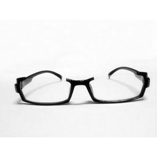 東京喰種トーキョーグール 西尾 錦(にしお にしき)/ニシキ メガネフレーム 逆ナイロール 眼鏡 コスプレ道具