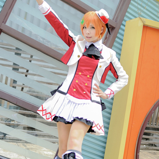 Love Live! 2nd Rin Hoshizora Cosplay Costume