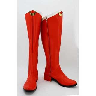 美少女戦士セーラームーン 月野 うさぎ(つきの うさぎ) ゴム底 合皮 低ヒール コスプレ靴