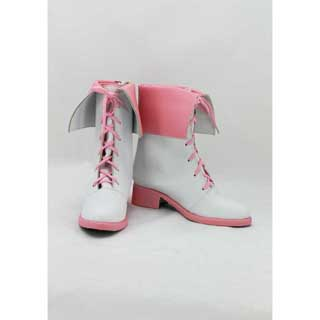 Rwby(ルビー) ノーラ・ヴァルキリー (Nora Valkyrie) ゴム底 合皮 低ヒール コスプレ靴
