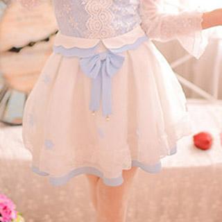 秋物 ふんわり スウィート シフォン スカート オリジナル衣装