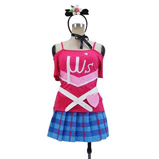 ラブライブ! 2期挿入歌 第13話挿入歌 『Happy maker!』 西木野 真姫(にしきの まき) 応援団 コスプレ衣装