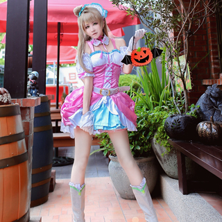 Love Live! Anime Single2 Love wing bellDancing stars on me! Kotori Minami Cosplay Costume