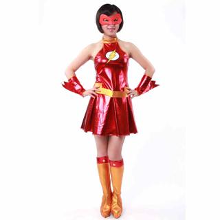 ハロウィン 大人仮面舞踏会衣装 女性衣装 稲妻侠 コスチューム