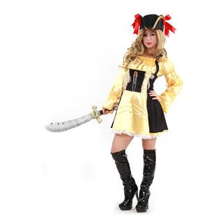 ハロウィン 大人仮面舞踏会衣装 セクシー 海賊衣装 女性衣装 フリーサイズ コスチューム