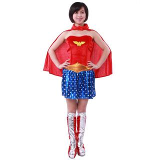 ハロウィン 大人仮面舞踏会衣装 ワンダーウーマン 女性衣装 コスチューム