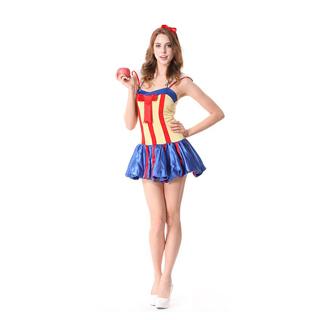 ハロウィン 大人仮面舞踏会衣装 白雪姫 女性衣装 コスチューム