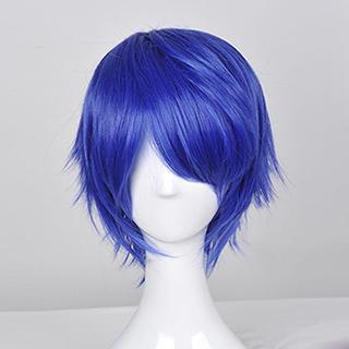 MARGINAL#4 藍羽 ルイ(あいば ルイ) サファイア ショート コスプレウィッグ