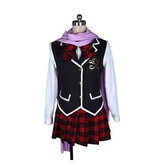 トリニティセブン 7人の魔書使い 風間 レヴィ(かざま レヴィ) 制服 コスプレ衣装