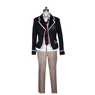 トリニティセブン 7人の魔書使い 春日 アラタ(かすが アラタ) 制服 コスプレ衣装
